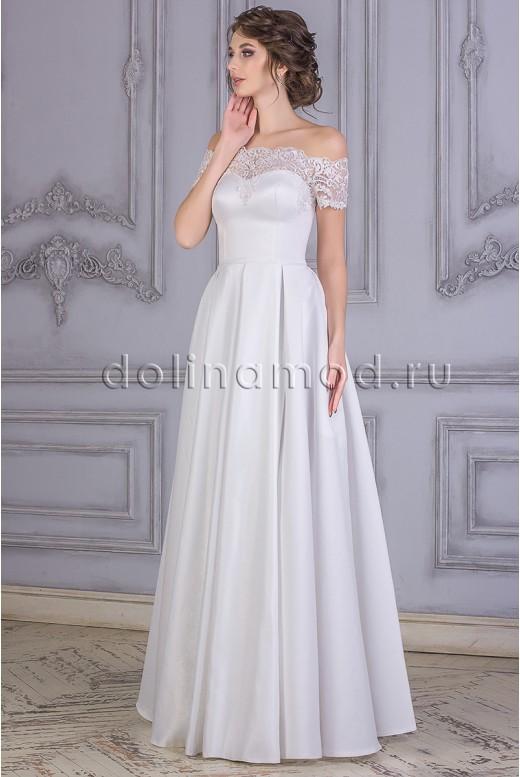 Свадебное платье Tamara с открытыми плечами