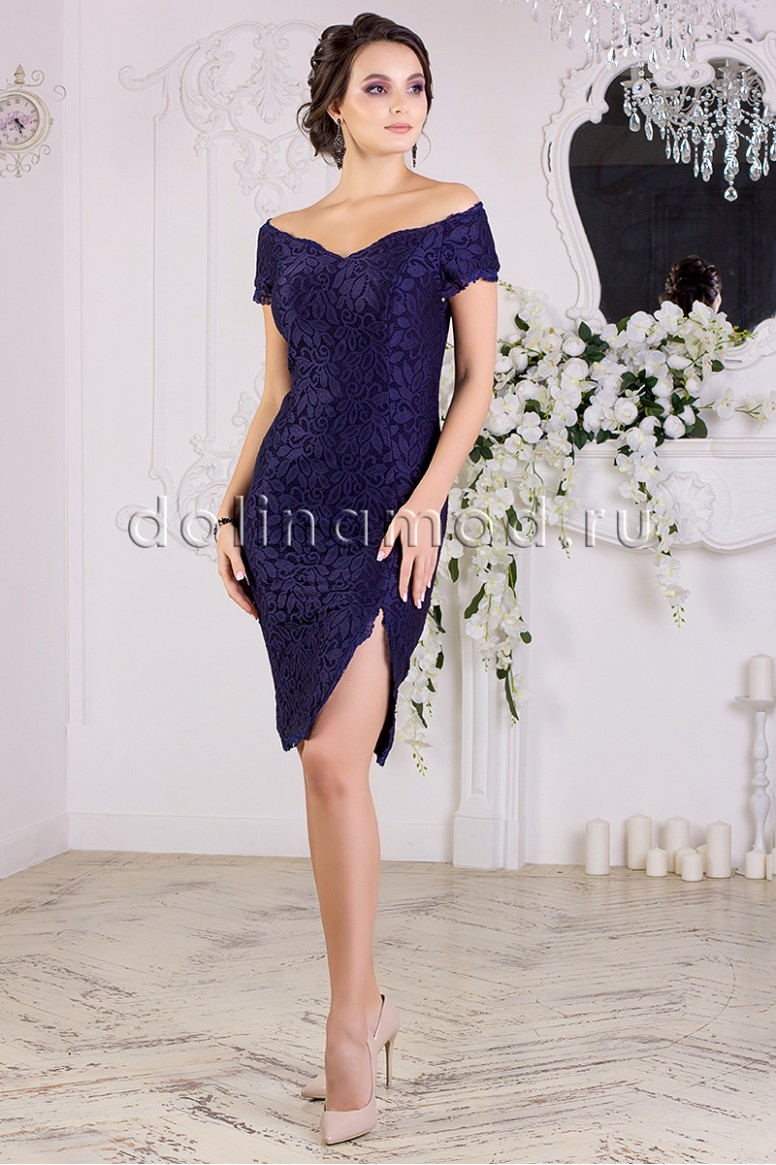 cc371cbf078 Купить оптом от производителя коктейльное платье-футляр DM-852