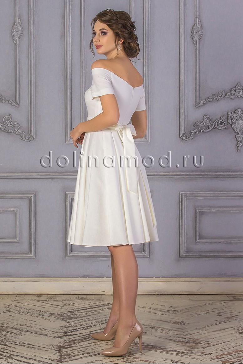 d3076198a36123f Купить коктейльное платье DM-855 оптом от производителя Долина Мод