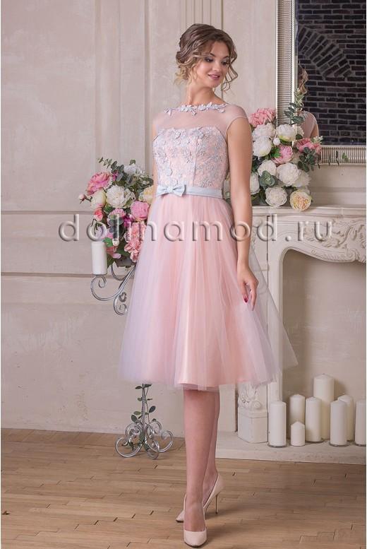 Вечернее короткое платье Dolores DM-899