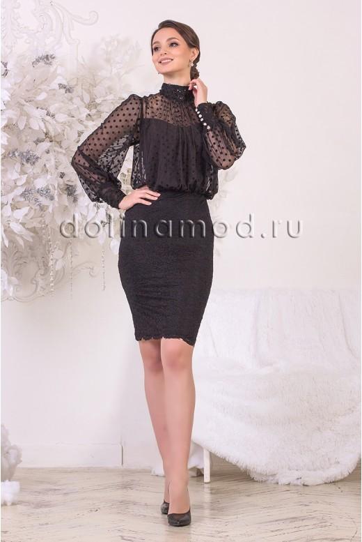 Коктейльное платье Stefany DM-968