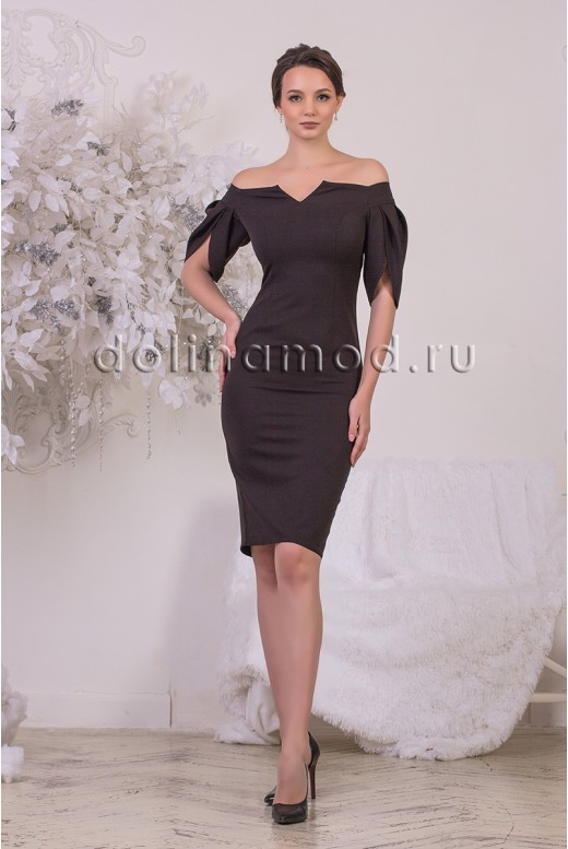 Сocktail sheath dress Stella DM-969