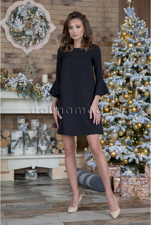 Короткое коктейльное платье Blanca DM-1021