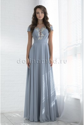 Evening long dress Russo DM-978