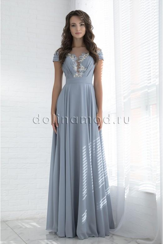Evening long dress Russo DM-978