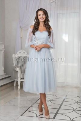 Пышное выпускное платье-миди Bianka DM-981