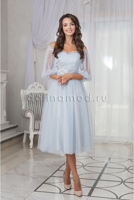 Puffy prom dress Bianca DM-981