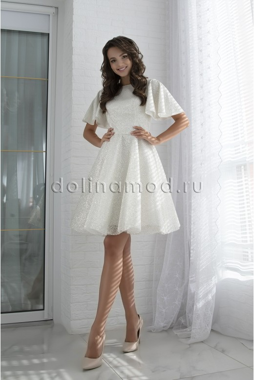 Short evening dress Damiana DM-982
