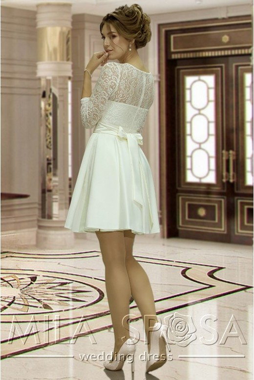 Short bridal dress Anett  MS-835