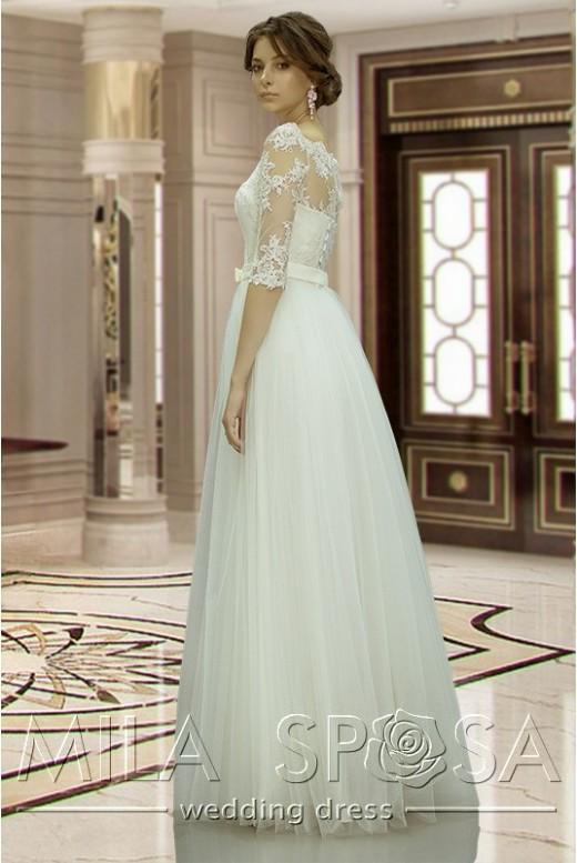 Wedding dress with sleeves Anastasia DM-837