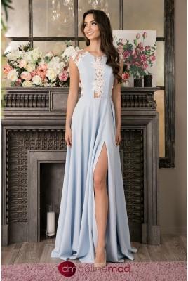Вечернее длинное платье Josephine DM-1016