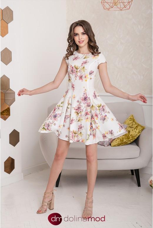 Повседневное короткое платье Charlotte DM-1031 оптом от производителя