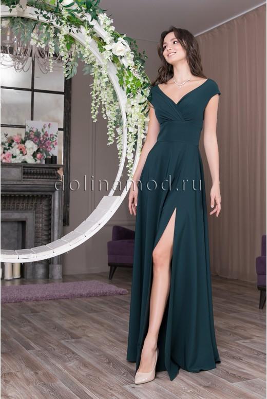Вечернее длинное платье Rihanna DM-1038
