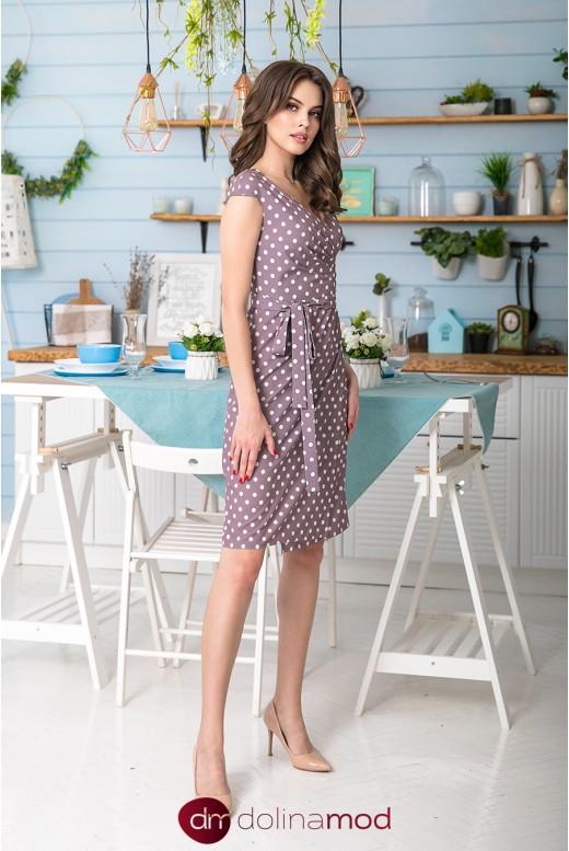 Повседневное летнее платье до колен Brianna DM-1052