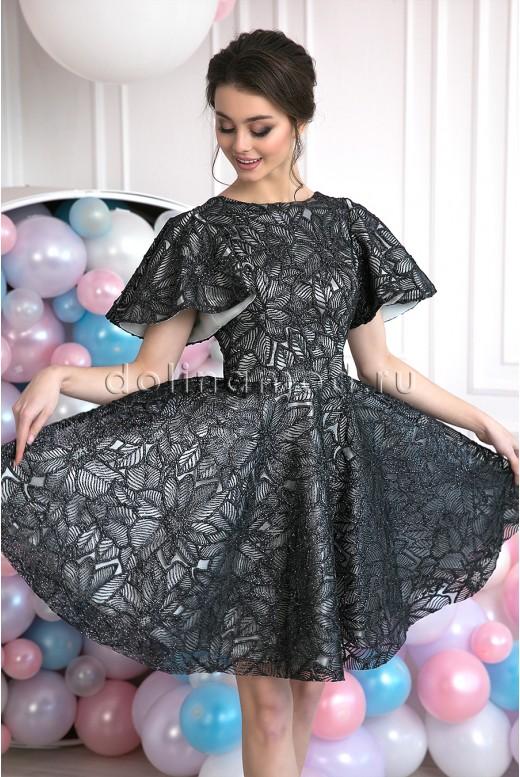 Короткое выпускное платье Damiana DM-982
