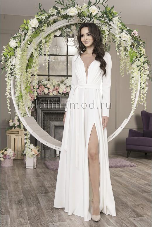 Свадебное платье с рукавами Astra MS-1017