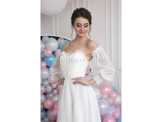 Недорогие свадебные платья с длинными рукавами. Россия
