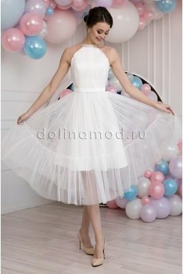 Свадебное короткое платье Fabiana MS-985