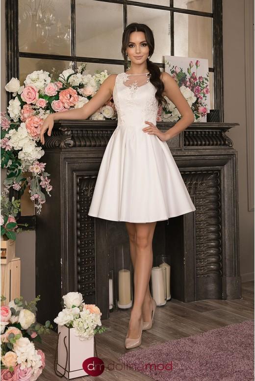 Короткое свадебное платье Lexi MS-991