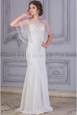 Wedding dress with Amelia MS-868