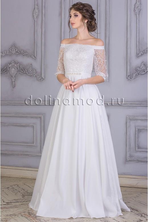 Свадебное платье с рукавами Britni  CM-875