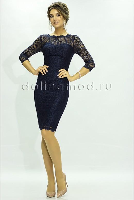 Вечернее платье с рукавами DM-825