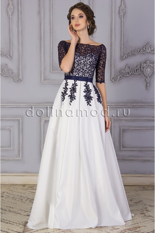 Prom dress with sleeves Danielle DM-842