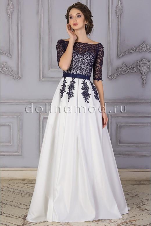 Выпускное платье с рукавами  Danielle DM-842
