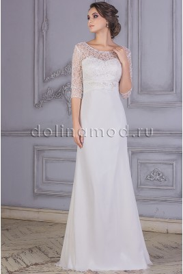 Wedding dress with sleeves Amelia DM877