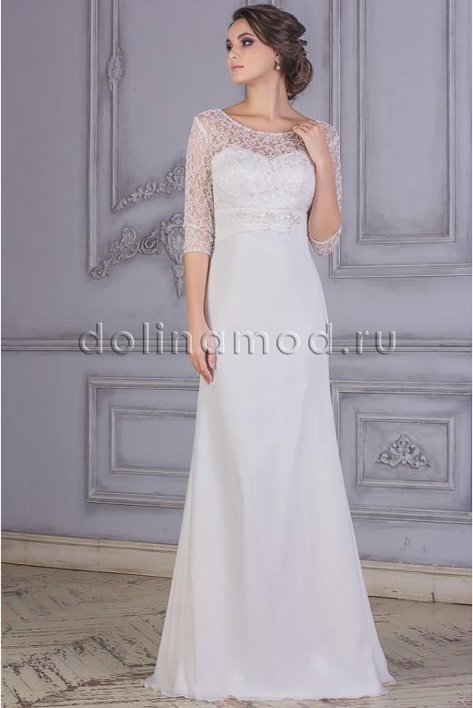 Свадебное платье с рукавами Амелия DM-877