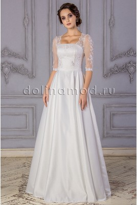 Wedding dress with sleeves Gabriela DM-882