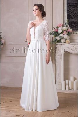 Свадебное платье с рукавами Amalia DM-898-C