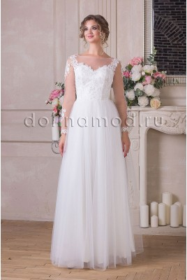 Wedding dress with sleeves Rosalie MS-936