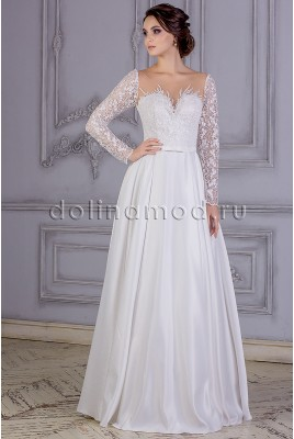 Wedding dress with sleeves Angelica VM-865