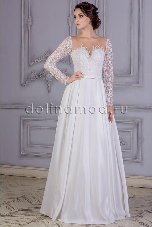 Свадебное платье с рукавами Angelica MS-865