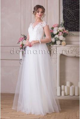 Свадебное платье с рукавами Nicole  VM-914-C