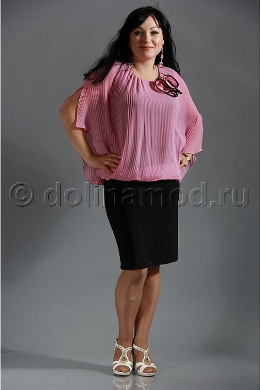 Нарядное платье с имитацией блузона
