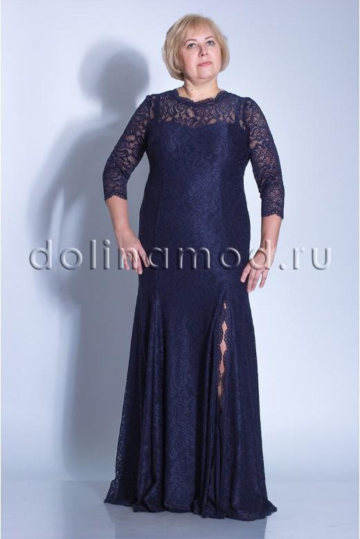 Вечернее платье с рукавами DM-824