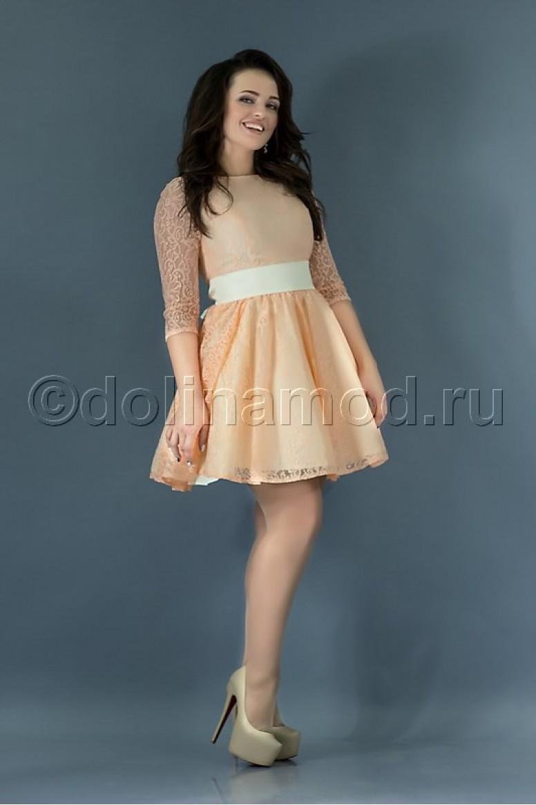bfa5609f53350d7 Купить короткое выпускное платье DM-767 оптом от производителя ...