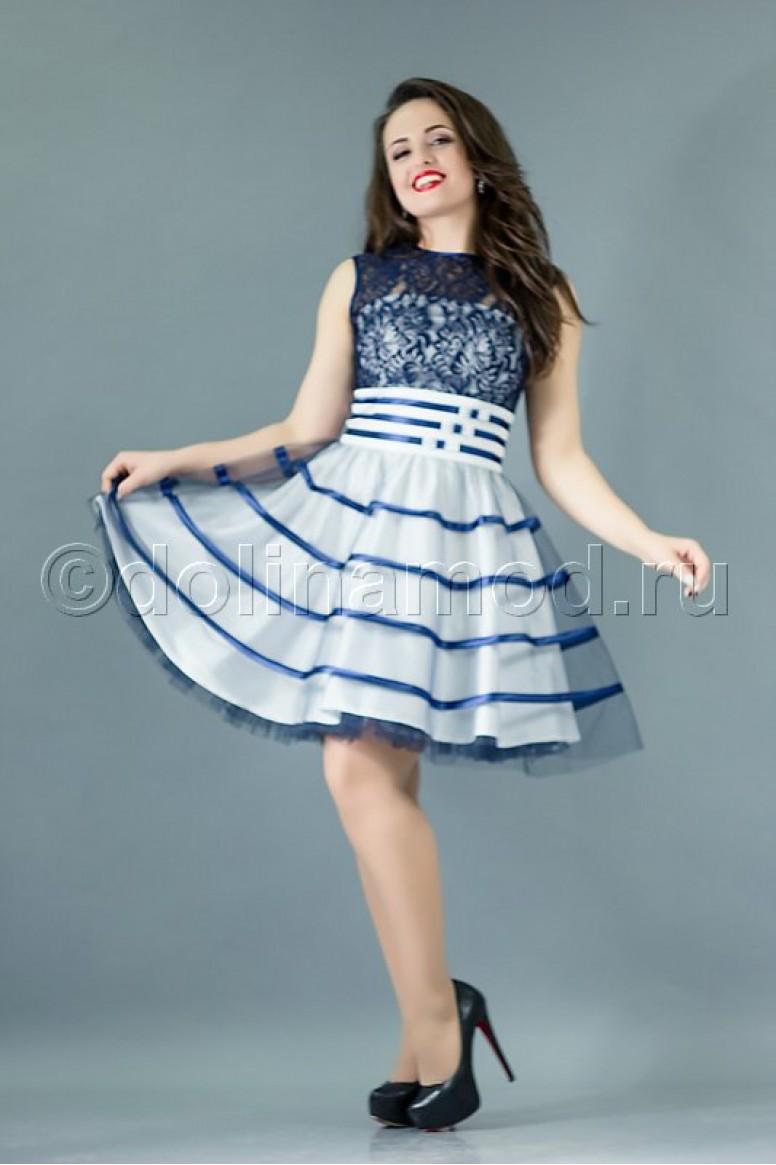 9d9ffab36a7bbd1 Купить выпускное платье DM-760 оптом от производителя Долина Мод