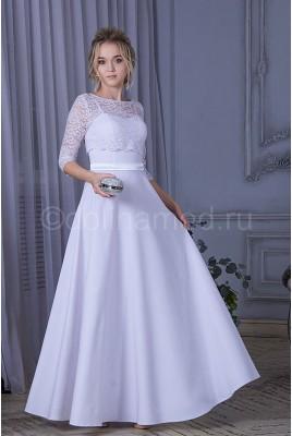 Свадебное платье с рукавами DM-788