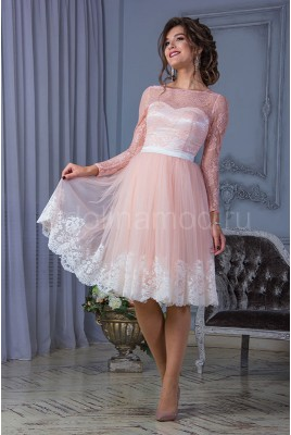 Short prom dress DM-823